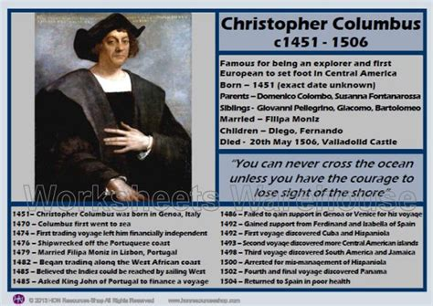 christopher columbus printable biography christopher columbus timeline images christopher