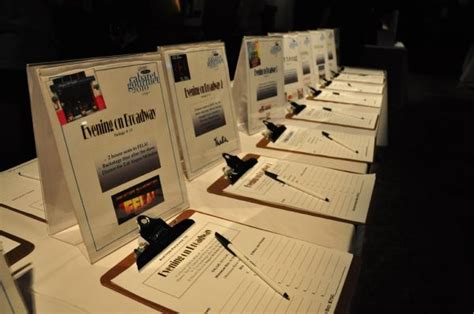 Gift Card Display Ideas - silent auction pr events marketing social media ideas for work