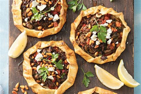 Turkish Lamb Pies Ottoman Cuisine Recipes