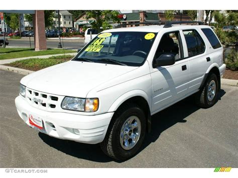 how to work on cars 2002 isuzu rodeo user handbook 2002 isuzu rodeo information and photos momentcar