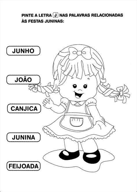 H Mes Kd 10 atividades de alfabetiza 231 227 o sobre festa junina para