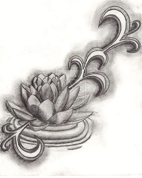 black lotus tattoo pearl ms 42 black grey lotus tattoos designs