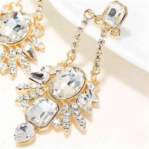 women fashion jewelry style earrings handmade glass
