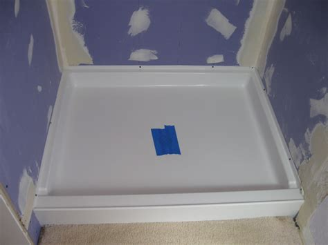 Installing A Shower Pan by Installing Tile Shower Pan How To Build A Tile Shower Floor Pan Bathroom Remodeling Services
