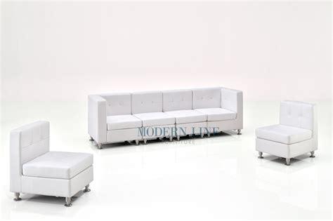 long white sofa modern line furniture commercial furniture custom made