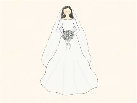 braut zeichnung how to draw a bride 10 steps with pictures wikihow