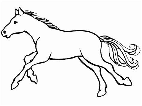 blanco y negro pintura lineal dibujar caballo ilustraci 243 n caballos para colorear
