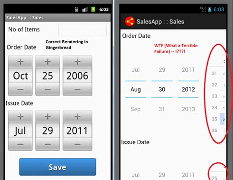 android datepicker android how to bypass the inconsistent datepicker widget