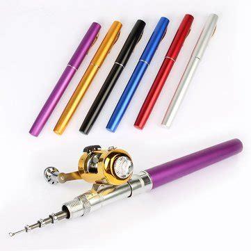 Fishing Pen By C C Shop by 1 4m Pocket Pen Fishing Rod Mini Telescopic Portable