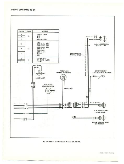 Wrg 6653 1966 C10 Chevy Truck Wiring Diagrams