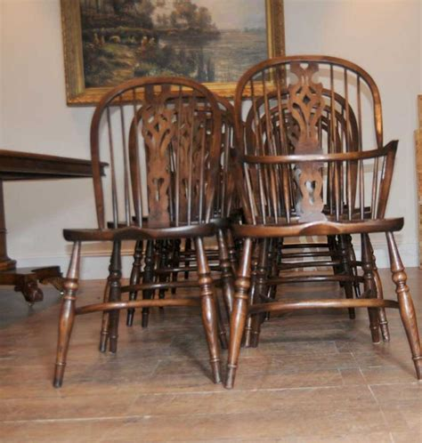 antique kitchen and chairs 10 antique windsor kitchen dining chairs set
