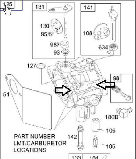 Briggs Stratton Carburetor Part No 799728