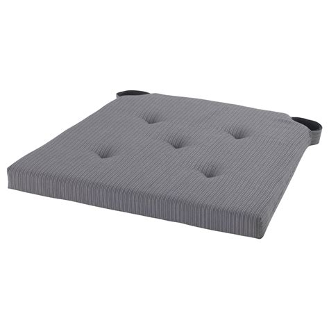 ikea carpet pad justina chair pad grey 35 42x40x4 0 cm ikea