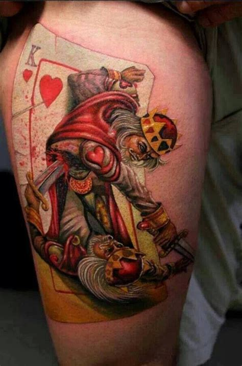 king of hearts tattoo tattoos amp bodymods pinterest