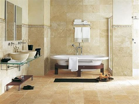 Tiled Bathroom Ideas Pictures Decoration Ideas Exciting Decoration Using Polished Marble Tile Wall And Travertine