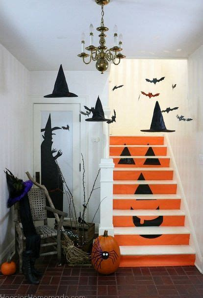 halloween decoration ideas to make at home best 25 homemade halloween decorations ideas on pinterest