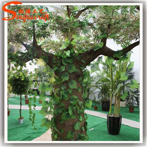 life size cheap artificial big trees landscape plastic hot new products for 2015 outdoor cheap artificial trees