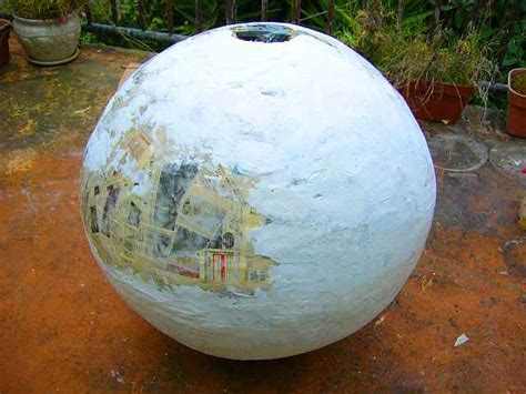 How To Make Paper Mache Balls - world bank planetocopia how i built lyr