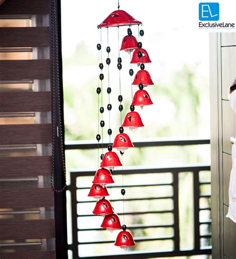 Kitchen And Bath Designers exclusivelane melodious sound ceramic wind chimes set of