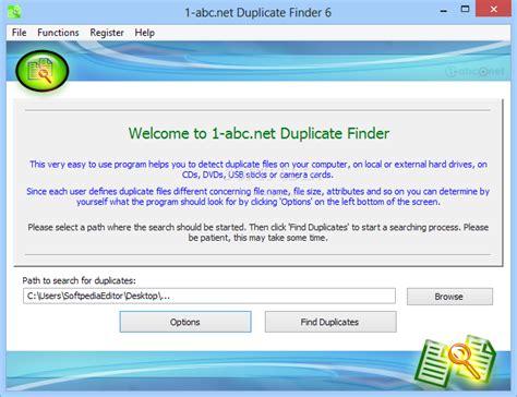 Abc Finder 1 Abc Net Duplicate Finder