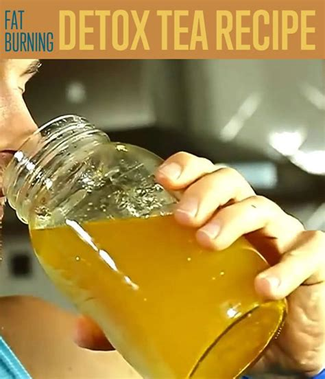 Diy Detox Tea Recipe by Burning Detox Tea Recipe Diy Projects Craft Ideas