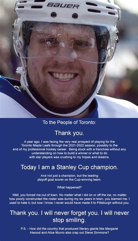 toronto star sports section phil kessel places full page ad in toronto star thanking
