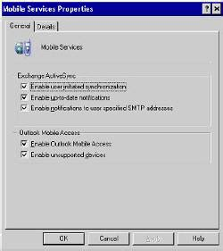 oma mobile oma outlook mobile access new features in exchange 2003