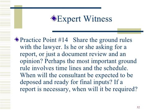Expert Witness Report Writing by Ethics And The Trial Consultant And Expert Witness