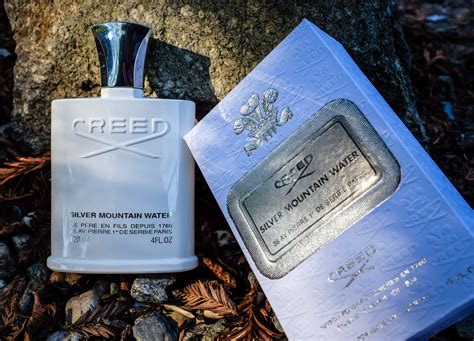 creed silver mountain water badger blade
