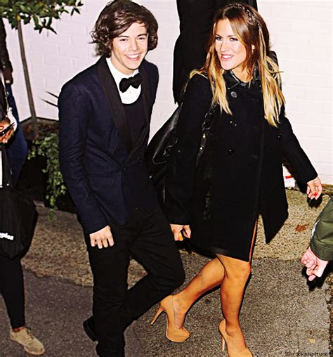 flack met harry on the set of x factor richfotowenn what s all the fuss about caroline flack