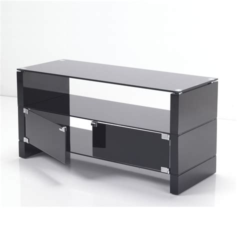 32 Inch Tv Cabinet by Black Glass Flat Screen Tv Stand Cabinets 32 40 Inch Ebay