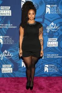 Amber riley chrisette michele and more at the essence black women in