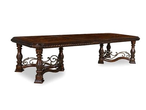 Dining Room Trestle Table by Art Furniture Dining Room Trestle Dining Table 209221 2304