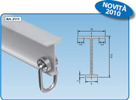 guide per tende scorrevoli profilati alluminio al go alluminio