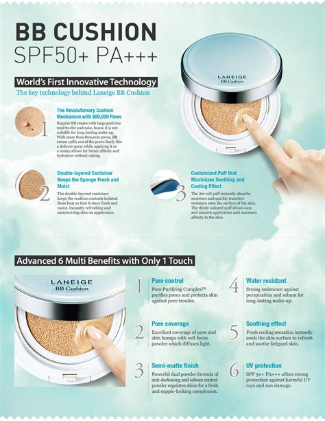 Laneige Cushion Bb everything about laneige bb cushion pore