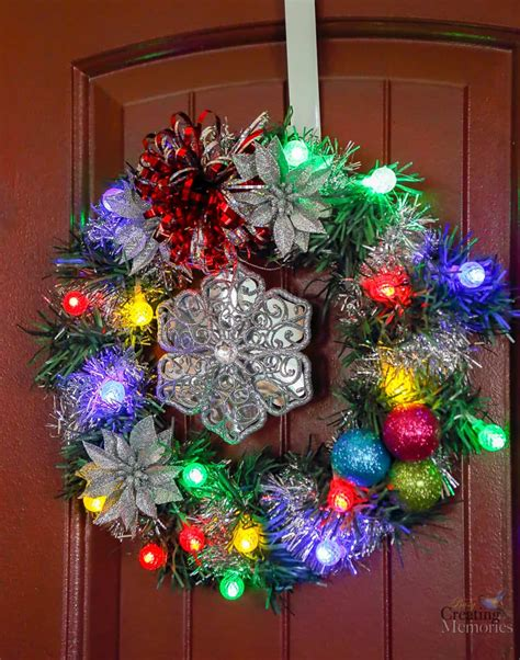 wreaths with lights images of wreaths with lights tree