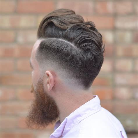 big neck hair cuts undercut v shape men