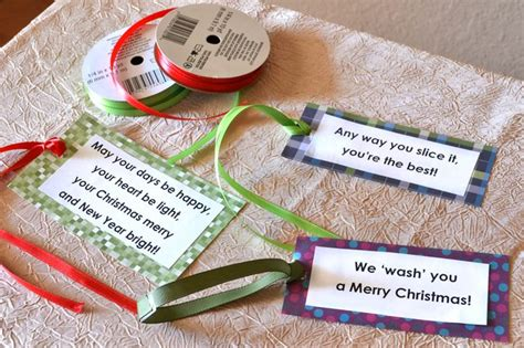 gift ideas with cute sayings for christmas with pictures