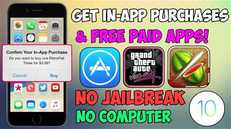 how to get in app purchases for free android get in app purchases for free no jailbreak ios 10 10 2 1 9 hacked apps iphone