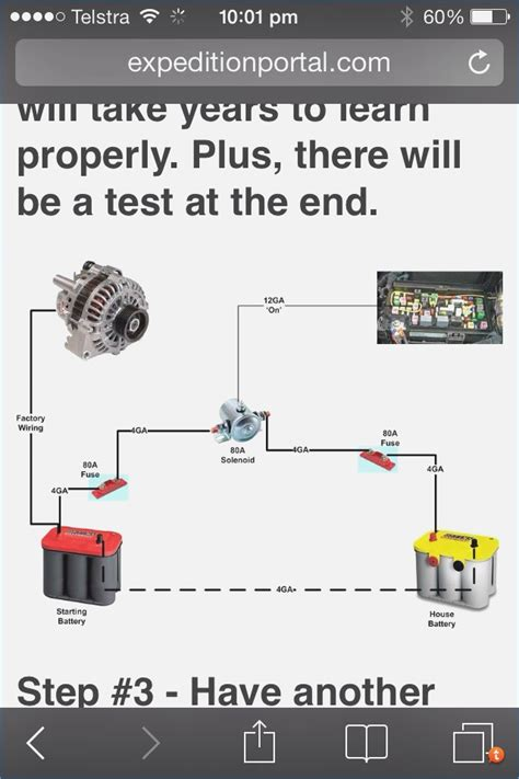 wiring diagram for dual battery system wiring diagram