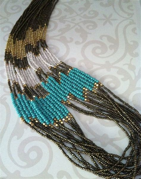 seed bead diy 25 best ideas about seed bead necklace on
