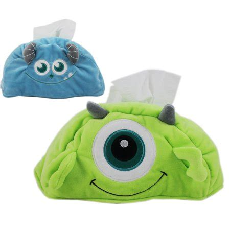 Inc Tissue Cover reversible disney monsters inc mike and sulley plush