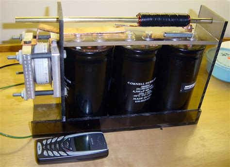 how to make a coil gun capacitor powerlabs advanced coil gun research