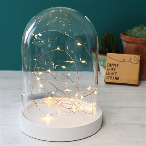 copper wire string lights 30 led battery powered wire string lights by