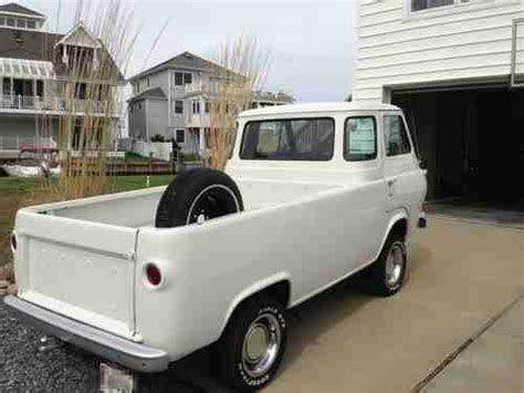 1964 Ford Econoline Purchase Used 1964 Ford Econoline 6 Window In
