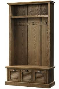 House Entry Furniture Fancy Shutter Locker Storage Trees Entryway