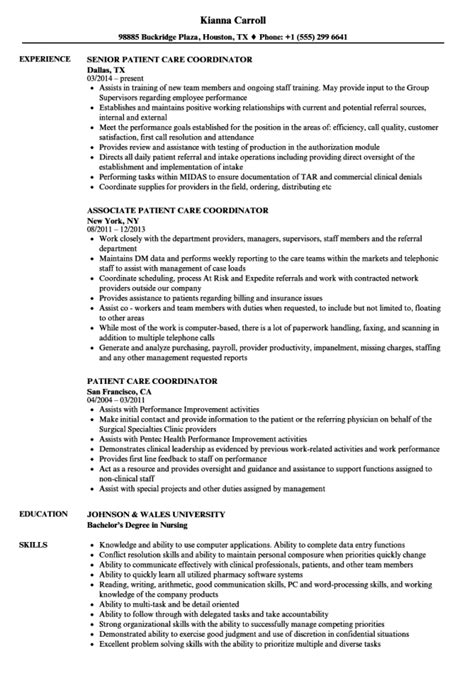 Activities Coordinator Resume Sle by Care Coordinator Resume Resume Sle