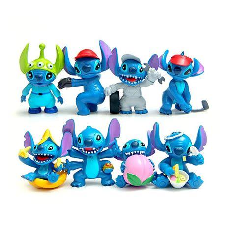 Figure Lilo And Stitch Isi 8 Pcs 1 aliexpress buy 8pcs lot mini stitch figures anime lilo stitch pvc