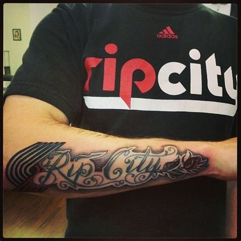 tattoo portland oregon rip city ink photo via jacob granillo portland