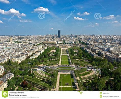 De Montparnasse Its Time by Vue Du Ch De Mars De Tour Eiffel Image Stock Image